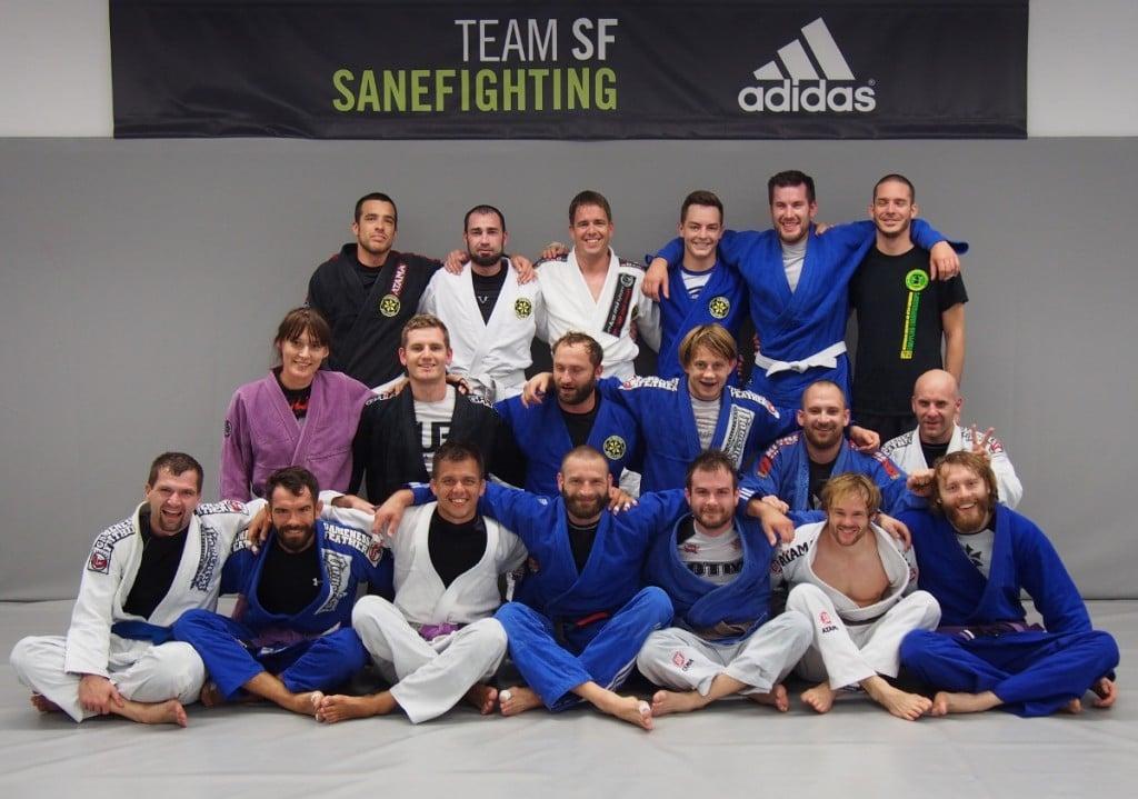 Brazilian Jiu-Jitsu open mat